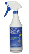 Brilliante Crystal Chandelier Cleaner Manual Sprayer 950ml Environmentally Safe, Ammonia-free, Drip-dry Formula, Made in USA