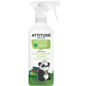ATTITUDE, Little Ones, Toy & Surface Cleaner, Concentrated, Fragrance Free, 16 fl oz