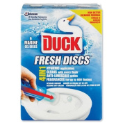Duck Toilet Gel Discs Marine Fragrance 36ml Ref 96791