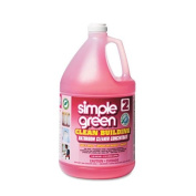 simple green Clean Building Bathroom Cleaner Concentrate, Unscented, 3.8l Bottle - two bottles of cleaner.
