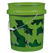 Camouflage Pail, Forest Green