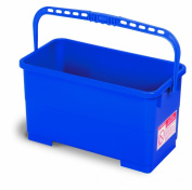 Continental 2559, Utility Bucket, 22.7l Capacity, 48cm - 0.6cm Width x 23cm - 1.3cm Height x 23cm - 1.3cm Depth, Blue, For Window Squeegees