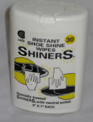 Shiners the Instant Shoe Shine Wipes