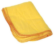 Duratool 21-11085 Yellow Cotton Duster Cloths - 10 per Pack
