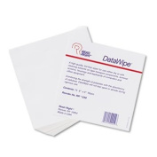 DataWipe Office Equipment Cleaner, Cloth, 6 x 6, White, 75/Pack