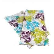 Full Circle Home FC13211X Clean Again Recycled Cleaning Cloths, Breezy Leaves, Mixed Colours, 2-Pack