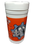 GMS Industrial Supply GMS1907 Protect Wipes Protectant Vinyl/Leather Wipes