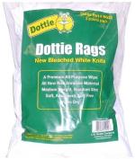 L.H. Dottie RGZ2 Wiping Rags, White, 0.9kg Bag White