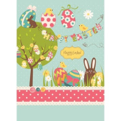 Printed Photography Background happy easter Titanium Cloth TC5135 Backdrop 1.5mx 1.8m (150cm x 200cm ) Better Then Muslin or Canvas