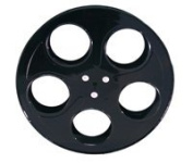 Movie Reels Black