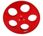 Movie Reels Red