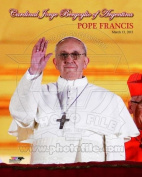 Cardinal Jorge Mario Bergoglio, Pope Francis I, March 13, 2013 - 8x10 Photo
