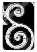 Letter E Photograph Alphabet Art Print 10cm x 15cm by Phot Oh Studio E