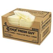 Chix Fresh Guy Towels, 13 1/2 x 13 1/2, Yellow - 150 towels.
