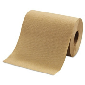 Morcon Paper Hardwound Roll Towels, 20cm x 110m, Brown - 12 rolls.