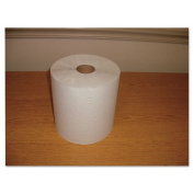 Morcon Paper Hardwound Roll Towels, Paper, White, 20cm x 180m - 12 rolls of towels.