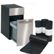 Bags For Less - Compactor Trash Bags Medium 4 Mil Tough Tough 34 x 44 100/Box