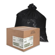 Nature Saver Heavy Duty Recycled Trash Liner - Black - NAT00994