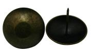 Amanaote Metal 4.1cm Diameter Antique Brass Hardware Upholstery Clavos Decorative Nails Tacks