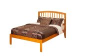 Atlantic Furniture Richmond Full Bed with Open Foot Rail