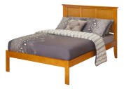 Atlantic Furniture Madison Platform Bed with Open Foot Rail