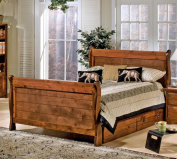 Chelsea Home Full Sleigh Bed In Cocoa