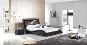 Dublin Contemporary Platform Bed Queen Size