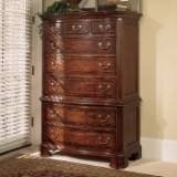American Drew 791-230 Cherry Grove 45th Chest On Chest in Antique Cherry,