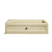 Decolav 5236-AWH Jordan 60cm Modular Single Drawer Console, White