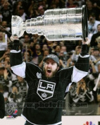 Mike Richards - holding Stanley Cup Trophy - 2012 NHL Stanley Cup 8x10 Photo