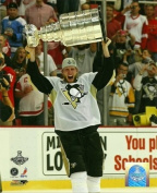 Jordan Staal Pittsburgh Penguins Holding Stanley Cup 8x10 Photo