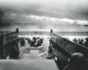 The Morning of June 6, 1944 (D-Day) at Omaha Beach - 8x10 Glossy Photo