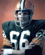 RAY NITSCHKE GREEN BAY PACKERS 8X10 SPORTS ACTION PHOTO
