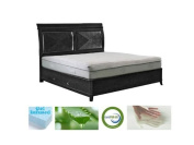 28cm Icon Sleep Aloe Vera Cool Gel Infused Green Tea Memory Foam Mattress w/ Free Quilted Poly Jacquard Cover - CertiPUR-US Certified