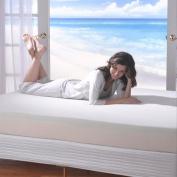 Spa Sensations 20cm Memory Foam Mattress, Size