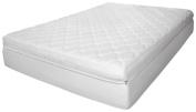 Rio Home Fashions 30cm Luxury Reversible Pillow Top Memory Foam Mattress