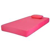 Jubilee Youth Memory Foam Mattress Full Pink