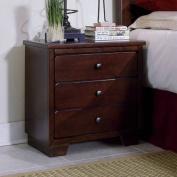Progressive Furniture 6166243 Diego Casual Nightstand in Espresso Pine 6166243