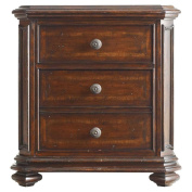 Stanley Continental Bedroom Night Stand Barrel 128-13-80