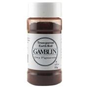 Gamblin Dry Pigment 120ml Trans Earth Red
