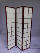 Square Furniture 3-panel Box Style Screen Divider