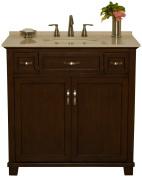 B & I Direct Imports 1017S Jackson Vanity Cabinet