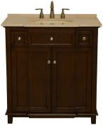 B & I Direct Imports 2009S Preston Vanity Cabinet