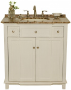 B & I Direct Imports 2009WB Patty Vanity Cabinet