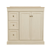 B & I Direct Imports A0701W Boston Vanity Cabinet