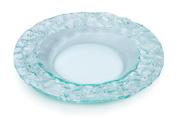 Rosseto 25cm Faux Glass Round Platter, Green