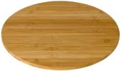 Rosseto BP400 Round Bamboo Surface Display Platter, 36cm
