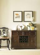 Stanley Furniture Portfolio Rustica Dining Sideboard Cabinet in Sorrel