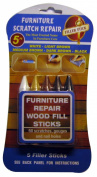 Furniture Touch up Scratch Repair Wood Fill Sticks 5 Colours