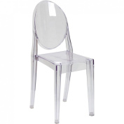 Ghost Side Chair in Transparent Crystal FH-111-APC-CLR-GG